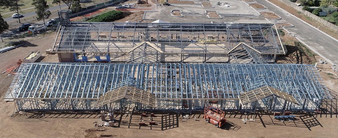 prefabricated steel framing Latter Day Saints Meeting House Werribee